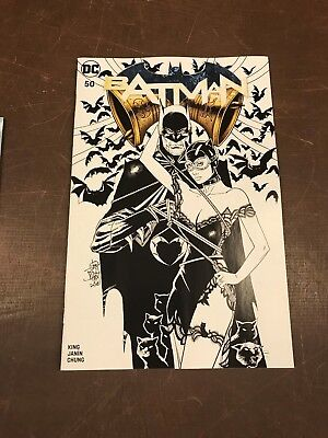BATMAN 50 BALENT FORBIDDEN PLANET/JETPACK COMICS SHARED EXCL VARIANT B Wedding?