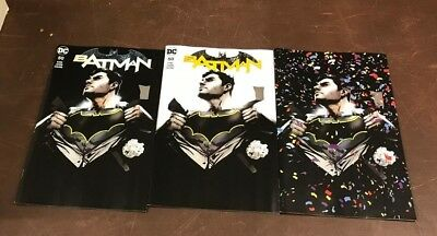 3x BATMAN 50 JOCK FORBIDDEN PLANET/JETPACK COMICS EXCL VARIANT; A B C Wedding?