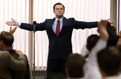 153305 the wolf of wall street Art Wall Print Poster UK
