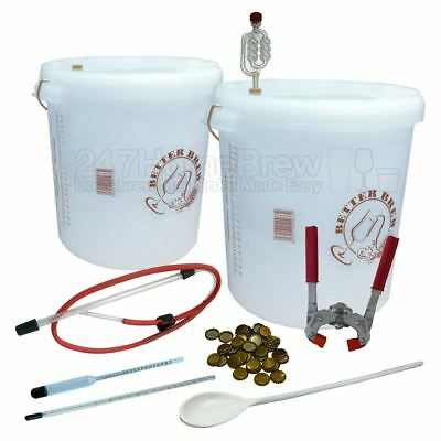 Deluxe Beer Making Kit with Bottle Capper Full Starter 33L Homebrew Cider, Lager