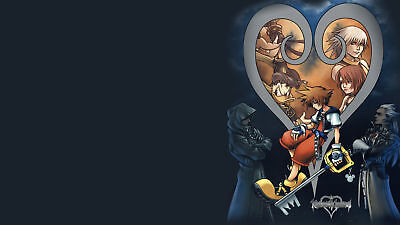 Kingdom Hearts Fast Shipping in Tube Beautiful 1009 Huge Poster  22 x 34