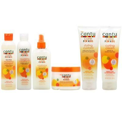 Cantu Care For kids Gentle care for textured Hair (full range)