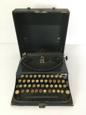 Vintage Typewriter ANTIQUE TYPEWRITER IN ORIGINAL CASE~