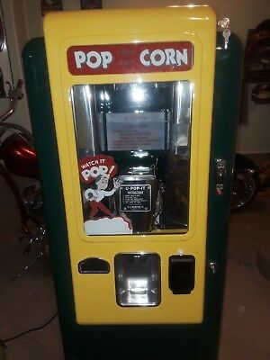 U-Pop-It Minit Pop Popperette Popcorn Vending Machine Rare Vintage Antique