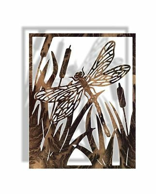 DXF CNC dxf for Plasma Dragon Fly Home decor Garden Metal Art Vector