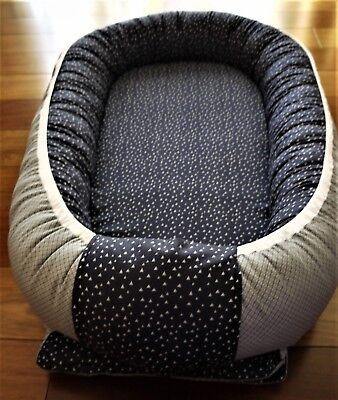 Baby nest Crib Bedding Infant Snuggle Pillow Lounger co sleeper