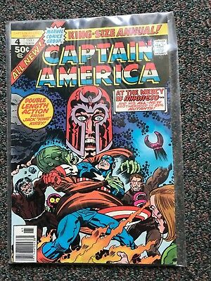 CAPTAIN AMERICA (Marvel Comics) KING-SIZE ANNUAL 4 (1977) NM