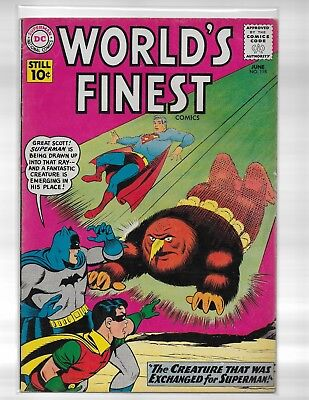 WORLDS FINEST COMICS # 118 ?Creature against Superman/ VF beauty/see scans