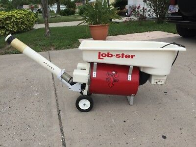 Lobster Lob-ster Tournament Model 401 Tennis Ball Machine with tubes