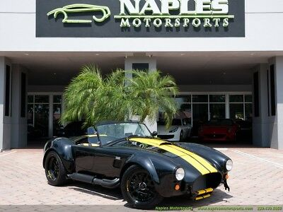 1965 Replica/Kit Makes  1965 Replica/Kit BackDraft Racing 427 Shelby Cobra 5 Speed, Limited Edition