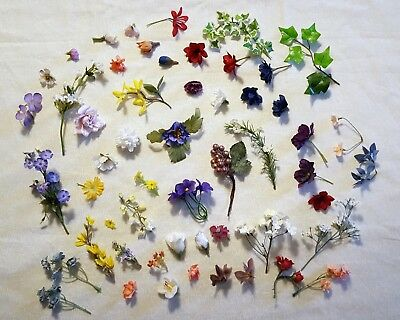 Vintage Millinery Flowers for Crafts, Hats, Weddings, Decor etc.