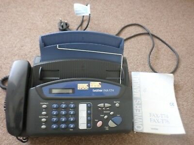 Brother Fax Phone Machine FAX-T74