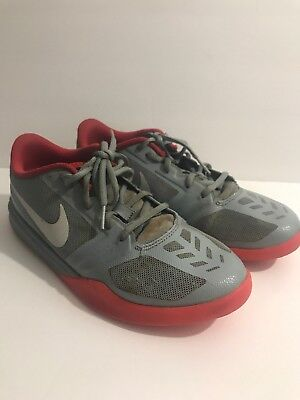 official photos d2a5f 5b59e Nike Kobe Nemesis Mens Sneakers Gray, Red Size 6.5Y