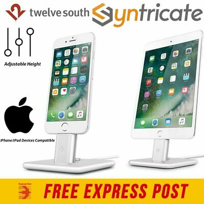 Twelve South Hirise 2 Stand Strong Tough Easy Mount For All Ipad/iphone Silver