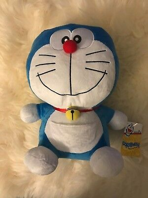 NWT BIG CUTE SKJ USA Doraemon plush, 11""