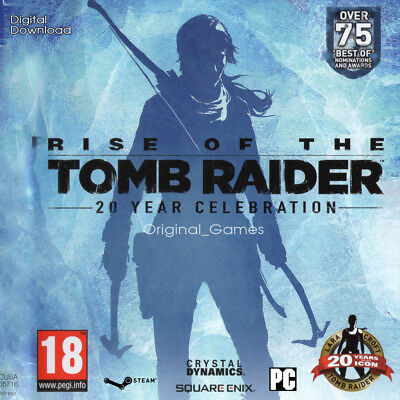 Rise of the Tomb Raider 20 Year Celebration Steam Key PC Region Free Global