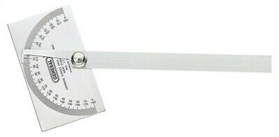 "General Tools Square Head Protractor Ss 3-3/8 "" X 2 "", 6 """