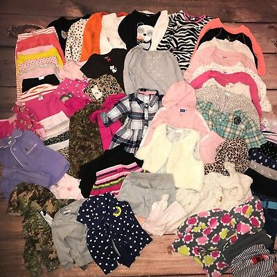 c01ca42df LOT OF 4 baby girl size 12 months spring   summer outfits