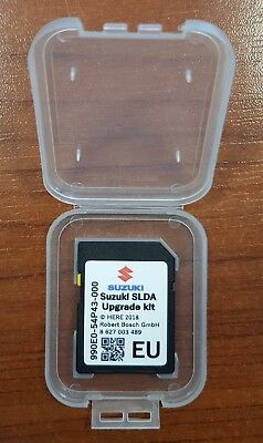 SUZUKI SLDA Navigation SD Card FULL EUROPE MAP 2018/2019 NEWEST BOSCH VITARA
