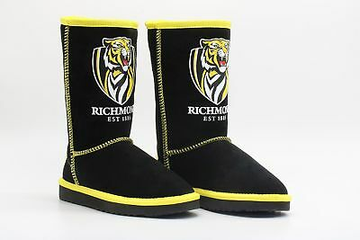 AFL UGG BOOTS RICHMOND TIGERS - Official Licensed Product