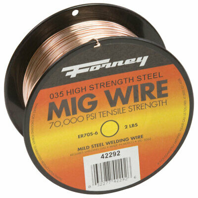Forney Mig Wire Mild Steel 2 Lbs.