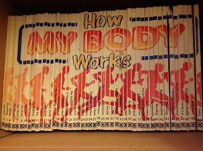 How My Body Works Book Collection *3 missing