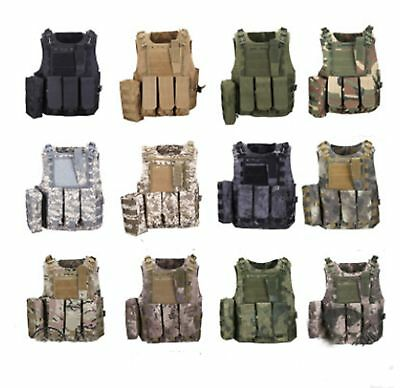 Tactical Vest Hunting Multi-Pocket Camouflage Army Combat Vest Outdoor CS Game