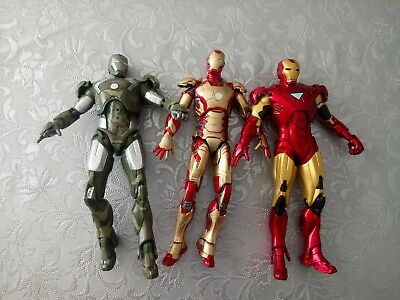 Marvel Select Iron Man 3 Pack
