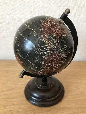 Lovely Collectible And Decorative Globe On A Wooden Plynth