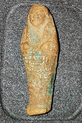 Egyptian glazed USHABTI  663BC (incl Certificate of Authenticity)