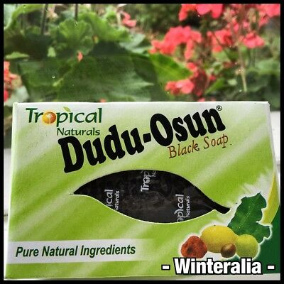 Tropical Naturals Dudu-Osun African Black Soap bar 150g- Choose Quantity