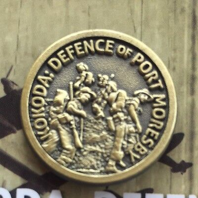 WW11 Kokoda: In Defence of Port Moresby Lapel Pin *Remembrance * ANZAC Day*NEW