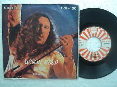 URIAH HEEP - The Wizard - Rare Thailand only release EP