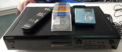 Sony Mini Disc Player mit MD Deck