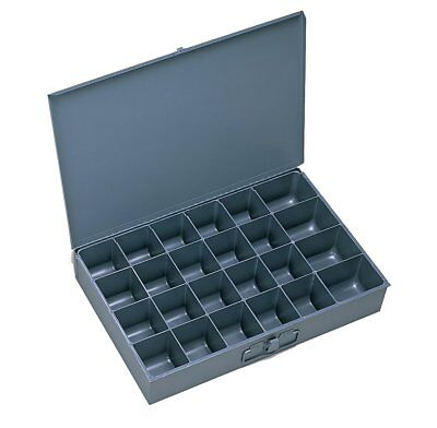 Durham 202-95-IND Gray Cold Rolled Steel Individual Small Scoop Box, 13-3/8""