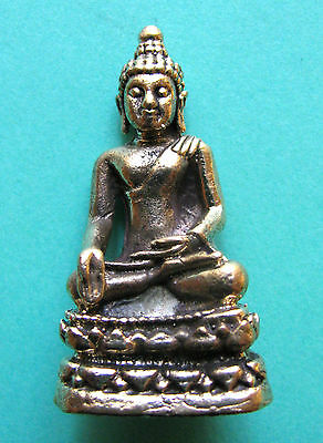 Buddha in der heroischen Pose,Bronze-Messing!!!