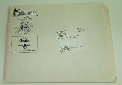 1980 Lone Ranger Deputy Kit General Mills Cheerios Mail In Cowboy Premium