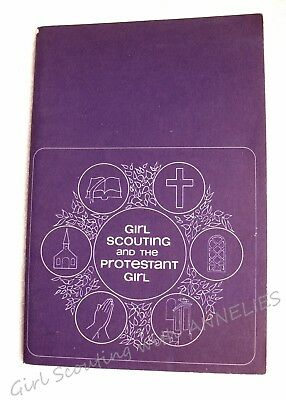 GIRL SCOUTING & PROTESTANT Scout Week, Sunday, Sabbath, Religious CHRISTMAS GIFT