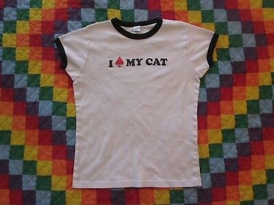 I Spade My Cat Women's T-Shirt Bella Brand Cap Sleeve Awearness Spade And Neuter