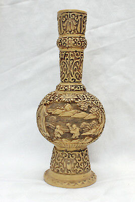 Beautiful Chinese Vase Probably Cane China approx. The 60ER