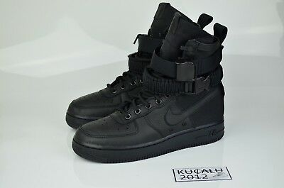 7cdd038792e NIKE SF AF1 Special Field Air Force 1 Triple Black 864024-003 ...