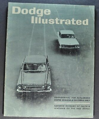 1962 Dodge Dealer Only Brochure Dart 440 Lancer Pickup Truck Original 62