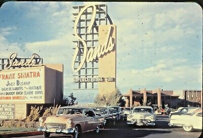 Vintage Photography 35mm Slide Lot Las Vegas and Nevada Vacation Trips NV