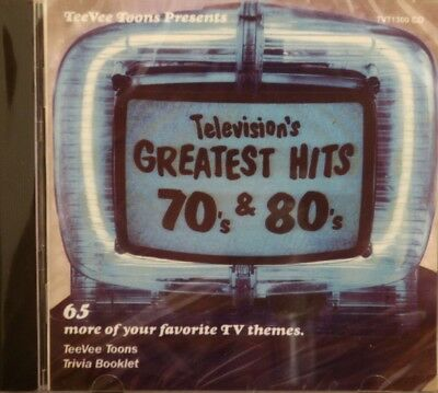 TELEVISION'S GREATEST HITS 80's & 90's - 'CABLE READY' - 65