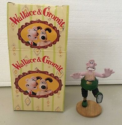 Wallace and Gromit - Wallace in the Wrong Trousers Figurine - 1989
