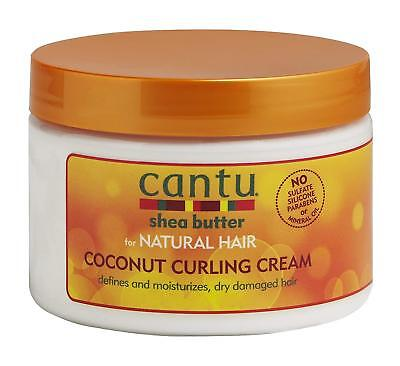Cantu Shea Butter for Natural Hair Coconut Curling Cream 12 oz.