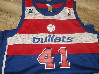 66f39ff18 Nba Basketball Jersey Throwback Adidas Wes Unseld Washington Bullets 1977- 1978