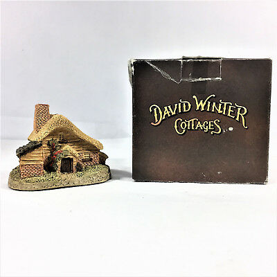 David Winter Drovers Cottage 1982 John Hine Studios Hand Made Painted