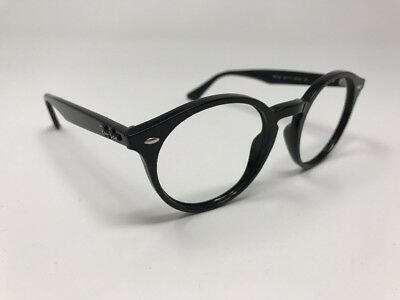 RAY BAN RB 2180 601 71 Black Round Frame Only Sunglasses 49-21-145 ... f710643ed6