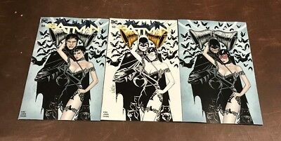3x BATMAN 50 BALENT FORBIDDEN PLANET/JETPACK COMICS EXCL VARIANT; A B C Wedding?